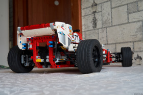 Thumbnail for «LEGO Technic 42000 — Вид сзади»